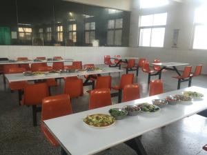 为学员们准备的晚餐